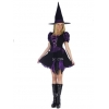 Witch Purple Punk Adult M